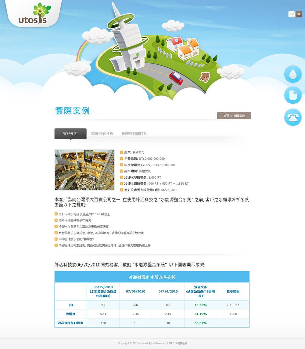 綠活網頁設計