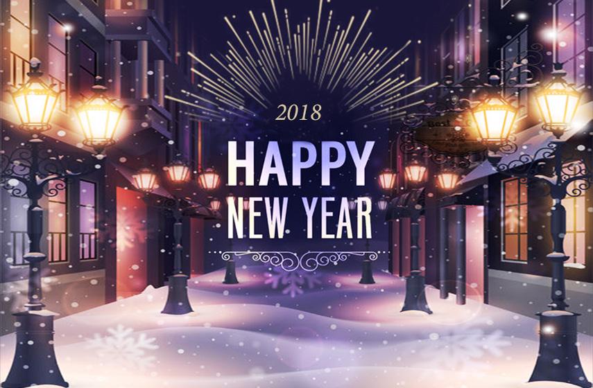 天狼星網頁設計-2018新年快樂